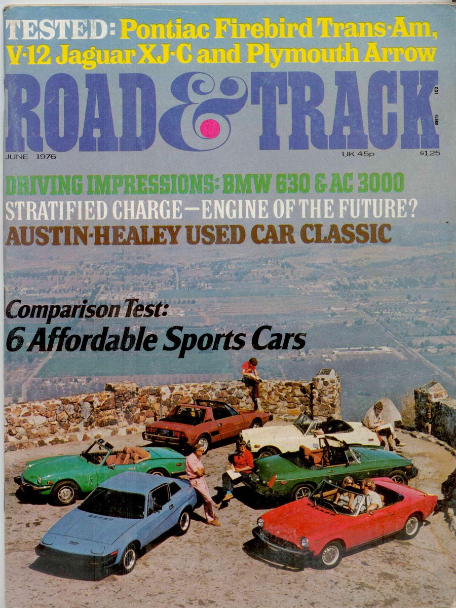 Vintage R&T Review: Six Affordable Sports Cars – Which Would You Buy ...