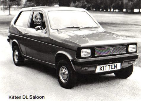 Reliant Kitten DL Saloon Front