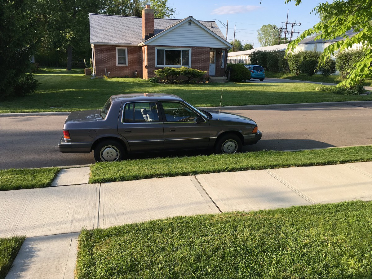 Cohort Outtakes: 1990 Dodge Spirit – A Historical Vehicle?