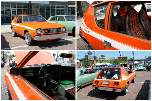 1977 AMC Gremlin collage CC redone