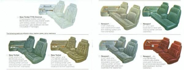 1980 NY Seat trim