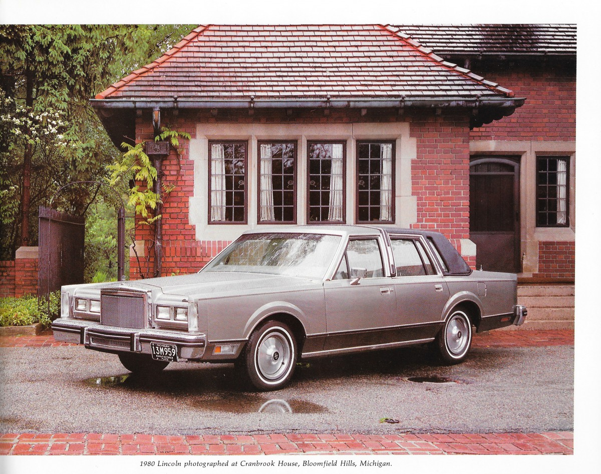 Vintage Review 1980 Lincoln Continental And Mark Vi The