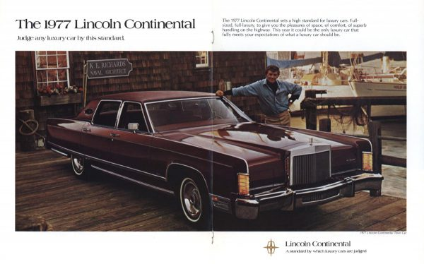 Ad 1977 Lincoln Continental