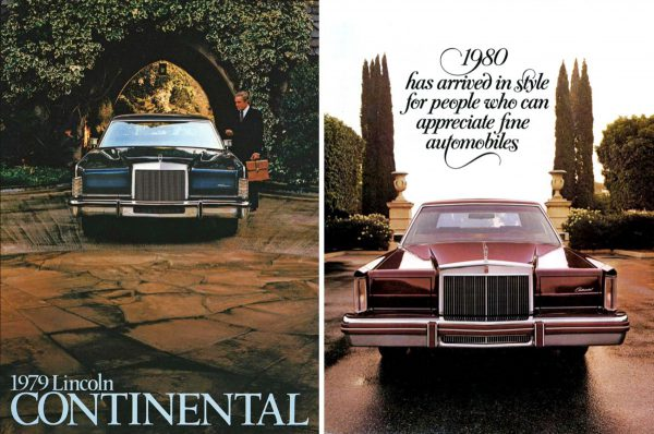 Comparison Continental and Mark VI
