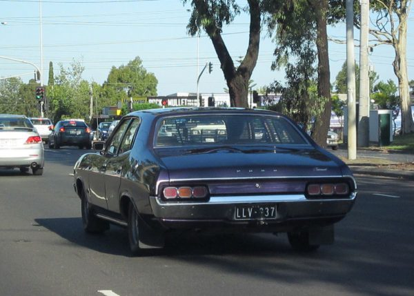 Ford Fairmont XA purple