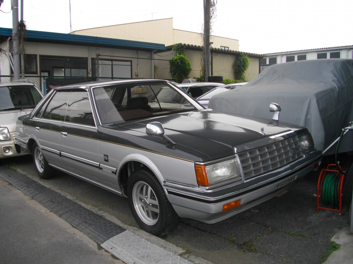 """Curbside Classic: 1982 Nissan Laurel """"Special Edition ..."""