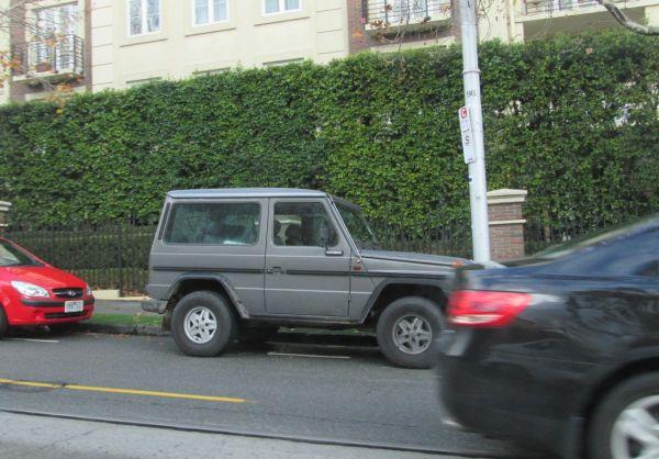 Mercedes Benz G swb