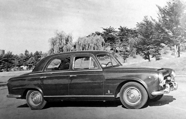 Peugeot 403 prototype