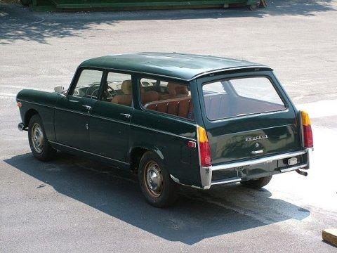 Peugeot 404 Pininfarina_Wagon_Rear_1