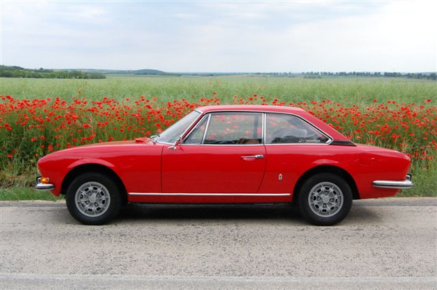 peugeot 504 coupe red poppies. Black Bedroom Furniture Sets. Home Design Ideas