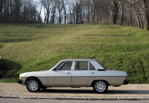 Peugeot 604 side