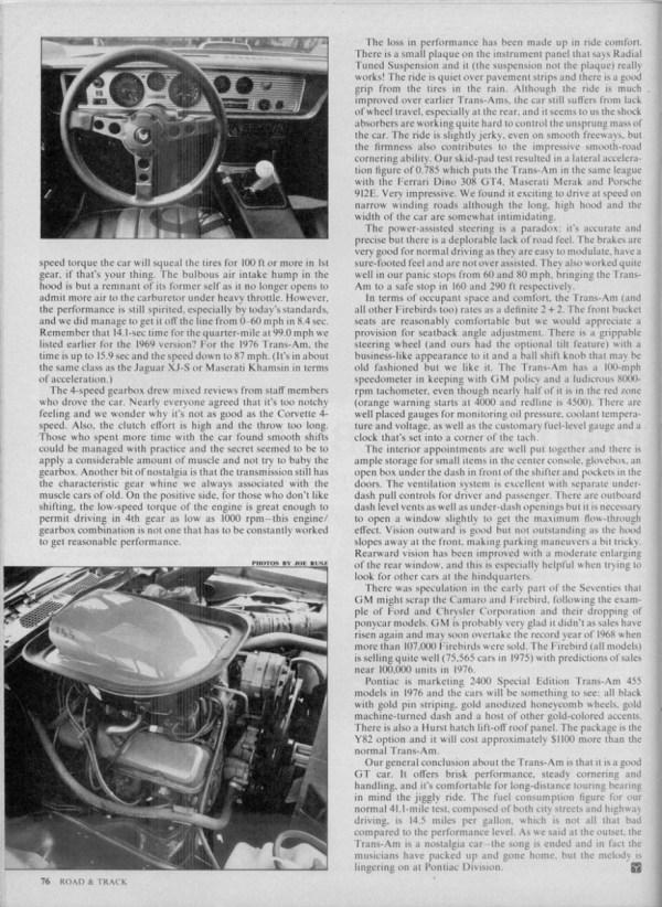RT 1976 Trans Am 002 900