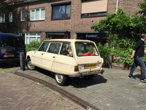 citroen ami street sighting