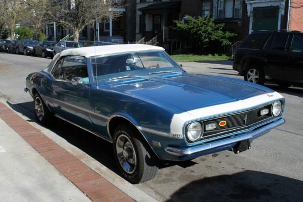 080 - 1968 Chevrolet Camaro Convertible CC