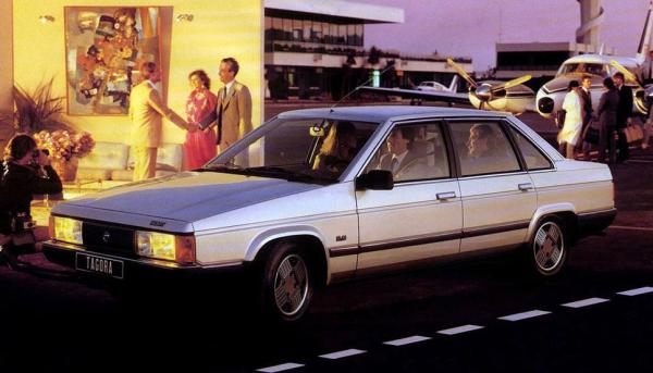 The all-new Talbot flagship, the RWD Tagora, developed under Chrysler, entered a crowded market segment with little to offer. As expected, it was a total flop (20,000 sold from 1981 to 1984).