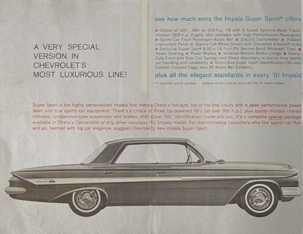 1961 chevrolet impala ss 1