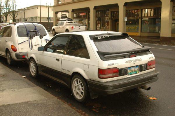 1988 Mazda 323 GTX. - 02