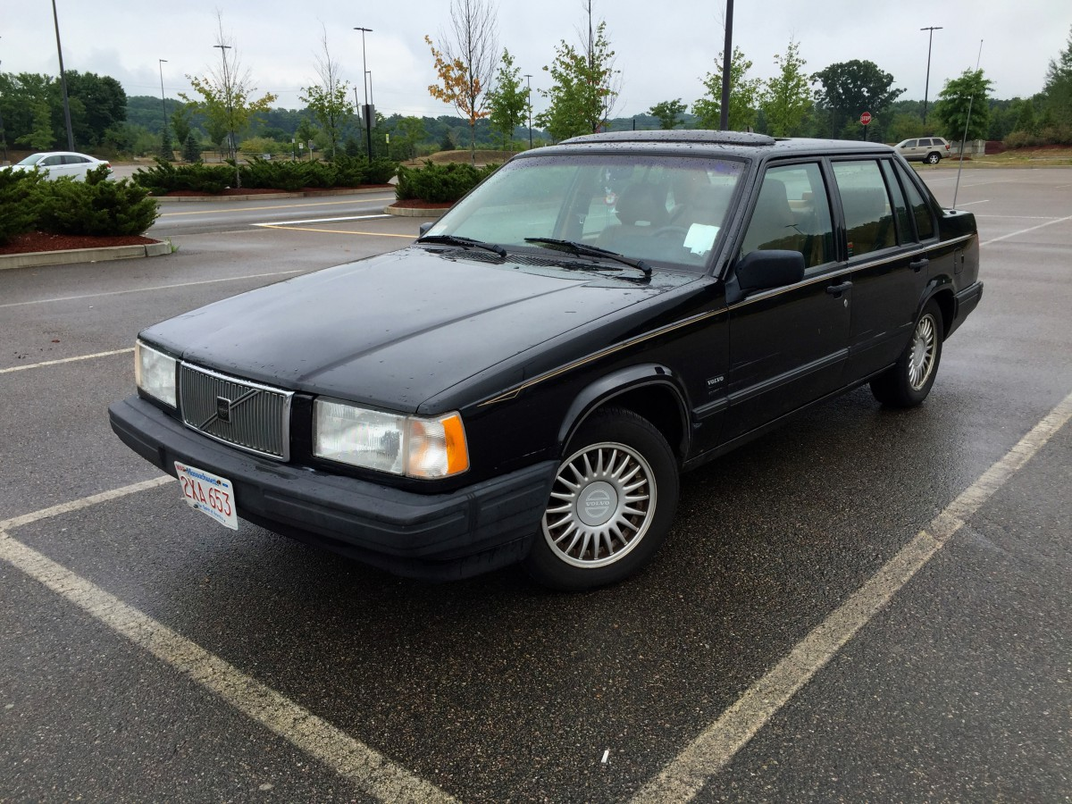 curbside classic 1993 volvo 940 dignified luxury