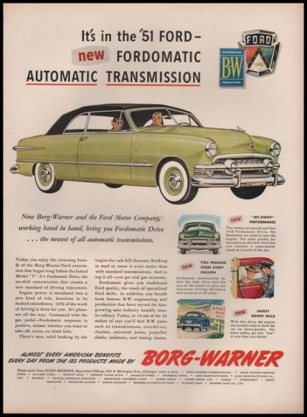 Fordomatic 1951 BW