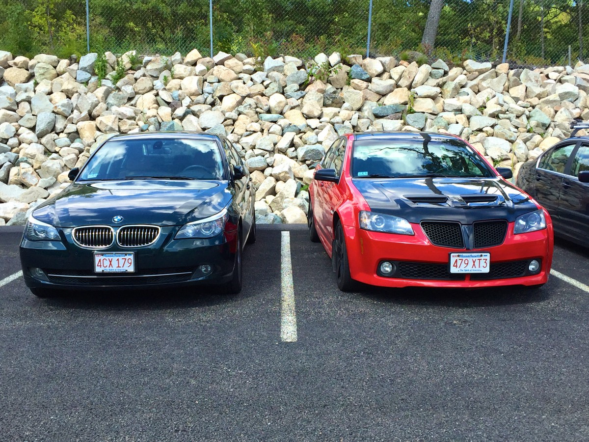 CC Capsule: 2008 Pontiac G8 GT & 2008 BMW 535Xi- The 5-Series And ...
