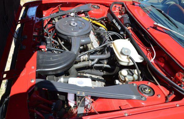 Lancia Beta engine