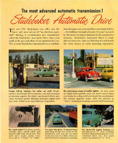 Studebaker Automatic drive 1951