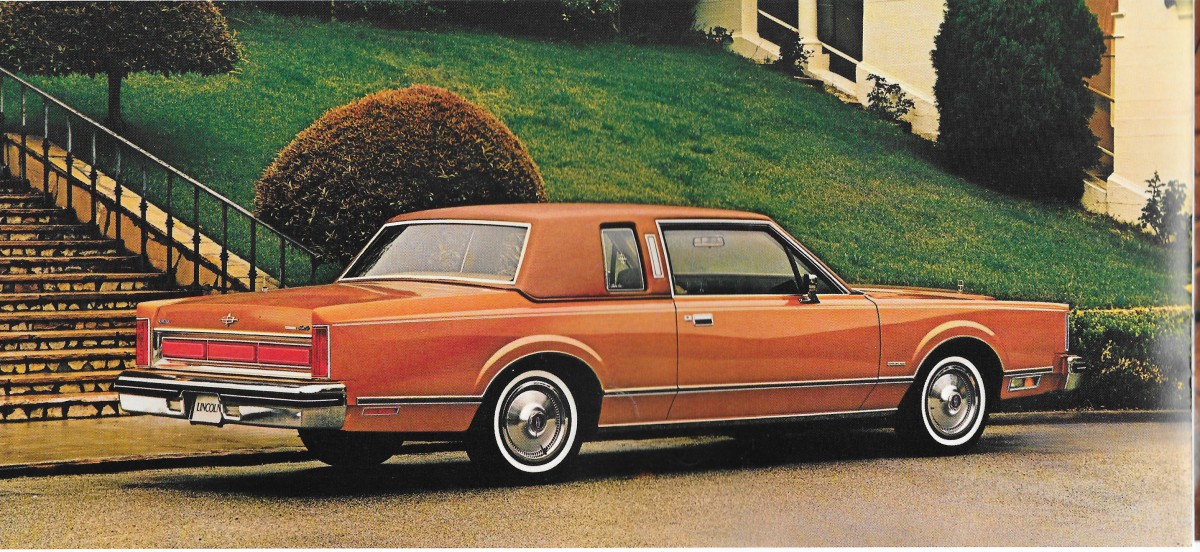 vintage review 1980 lincoln continental and mark vi the challenges of shrinking giants. Black Bedroom Furniture Sets. Home Design Ideas