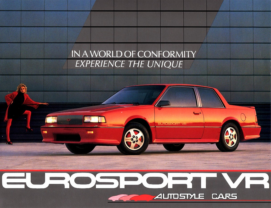 eBay Find of the Day: 1988 Chevy Celebrity Eurosport VR ...