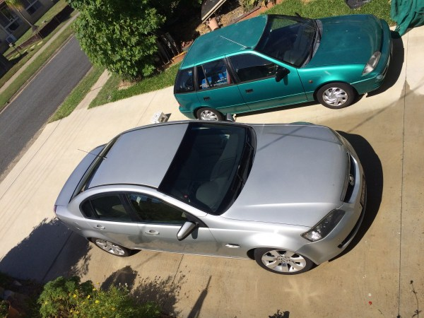 holden ve calais v suzuki swift