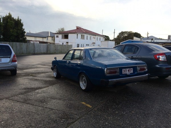 modified datsun 200b