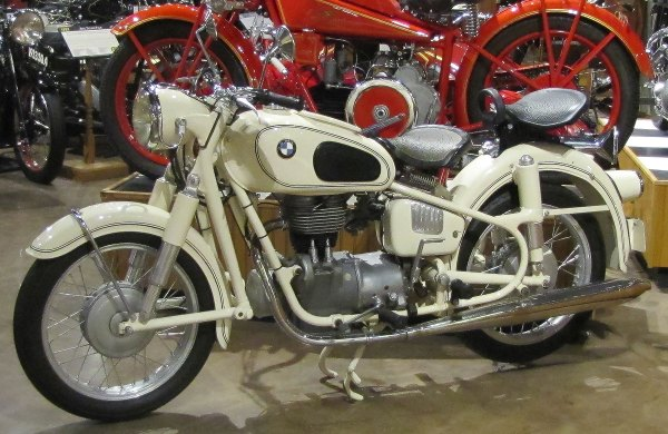 national Motorcyle Museum BMW R26
