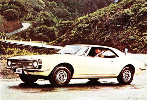 Camaro 1968 SS brochure