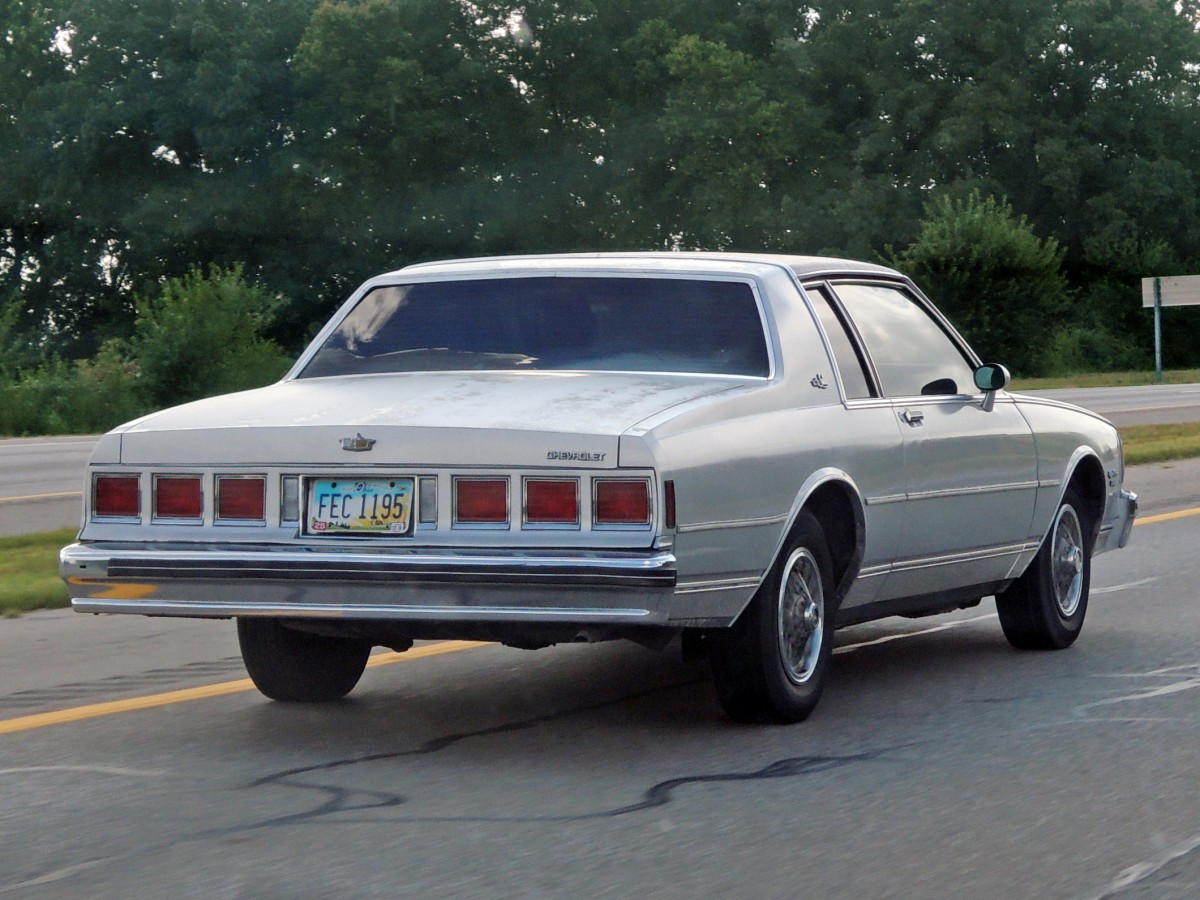 In Motion Classic: 1981 Chevrolet Caprice Landau Diesel – An ...