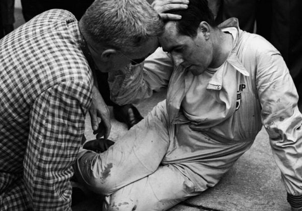 Brabham after race