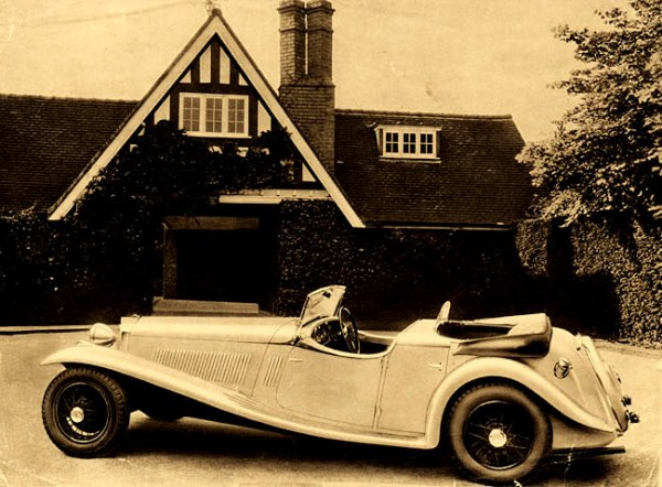 Early Jensen S-Types (circa 1936) could be ordered with the V8-60 instead of the 3.6 – only three were, it seems…