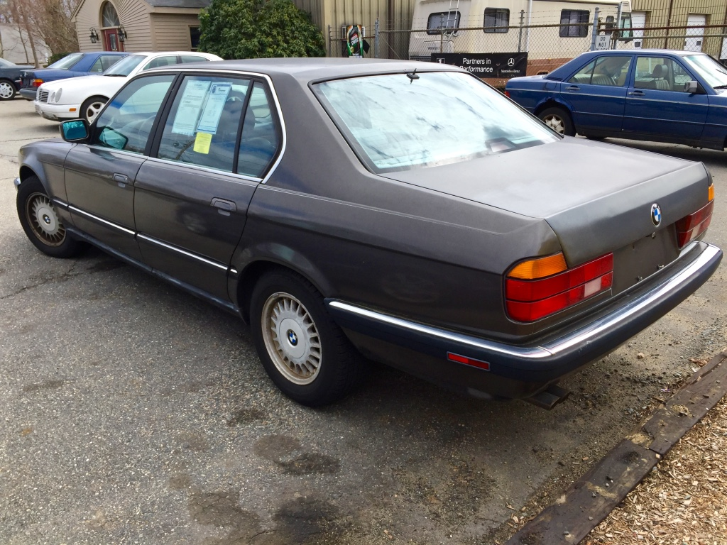 Curbside Classic 1989 Bmw 735il E32 Bavaria Builds A True Flagship Auto Repair 735i 1986 Electrical 750il 8