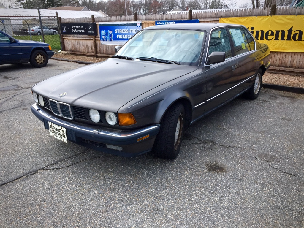 Curbside Classic 1989 Bmw 735il E32 Bavaria Builds A True Flagship Auto Repair 735i 1986 Electrical 750il