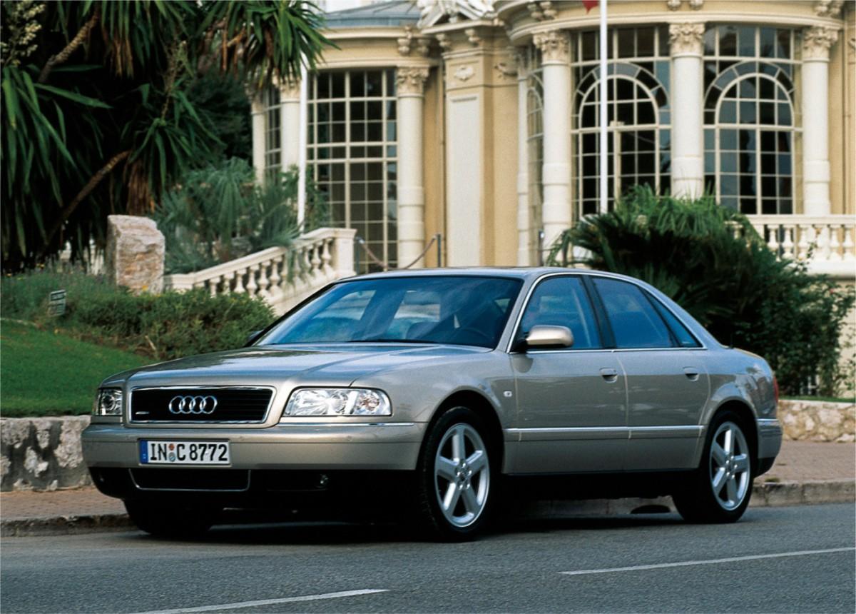 Curbside Classic Audi A Quattro Close But No Zigarre - Audi high end model