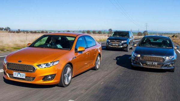 The last Falcon sedan and ute. Picture from carsguide.com.au