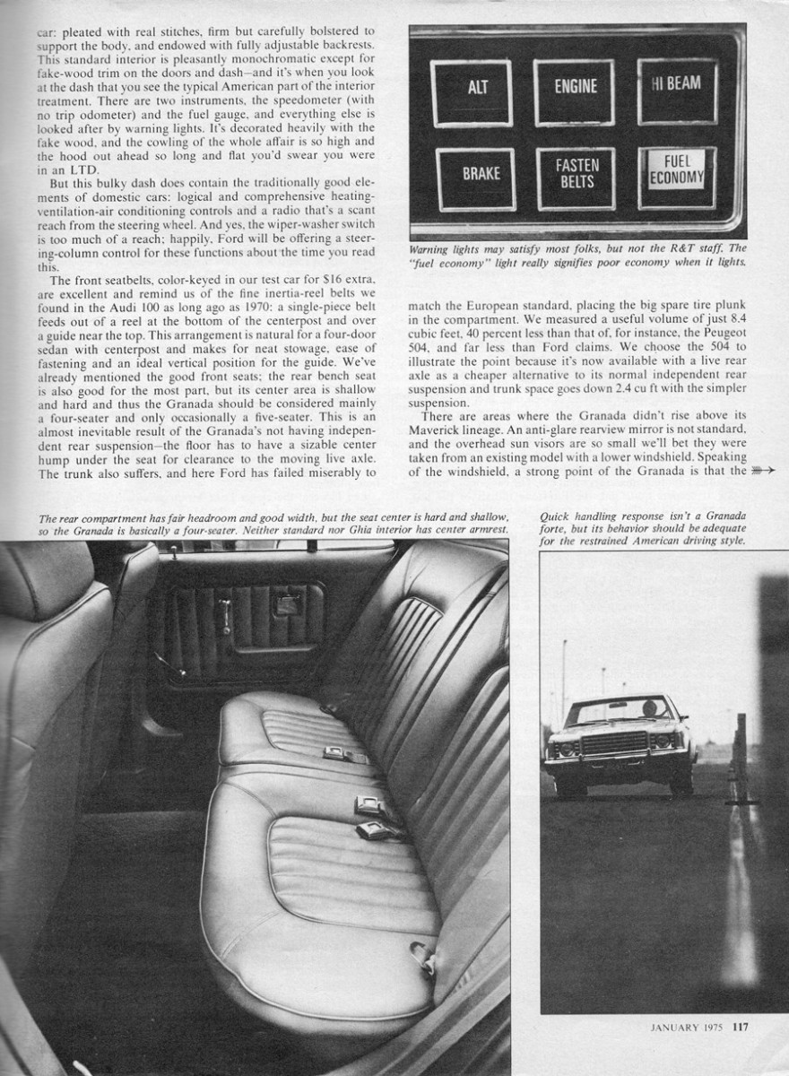 vintage review 1975 ford granada the perfect car for mother to buy