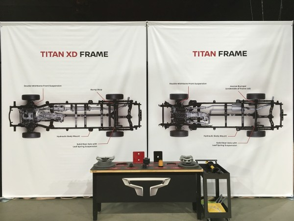 2017 Nissan Titan and Titan XD Frames