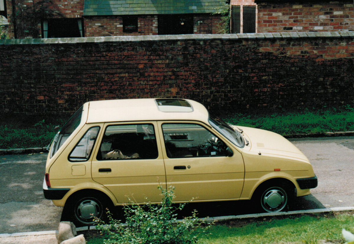 After George Stopped Driving Due To A Stroke My Grandmother Helga Took Up Those Duties The Allegro Was Disposed Of And Replaced With The Pride Of Britain