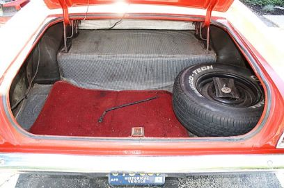 I wish my trunk looked this good!