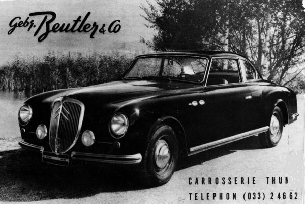 1953 Citroën 15-Six coupé by Beutler