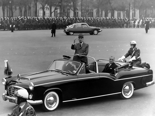 General de Gaulle approved his predecessor's choice in cars: he also had a 15 H.