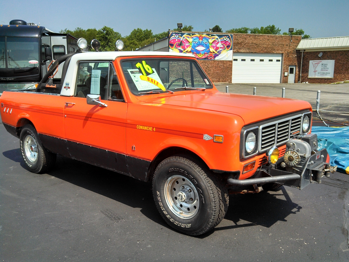 Curbside Classic: 1976 International Scout Terra – The ...