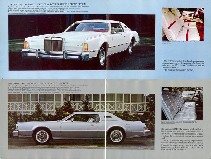 Curbside Classic 1975 Lincoln Continental Mark Iv