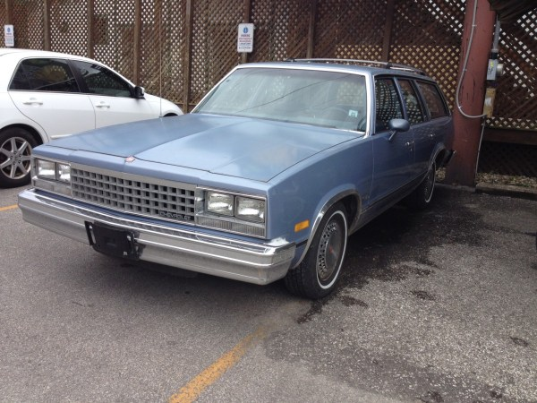 Curbside Classic 1983 Malibu Wagon Whats Got Six Cylinders Four