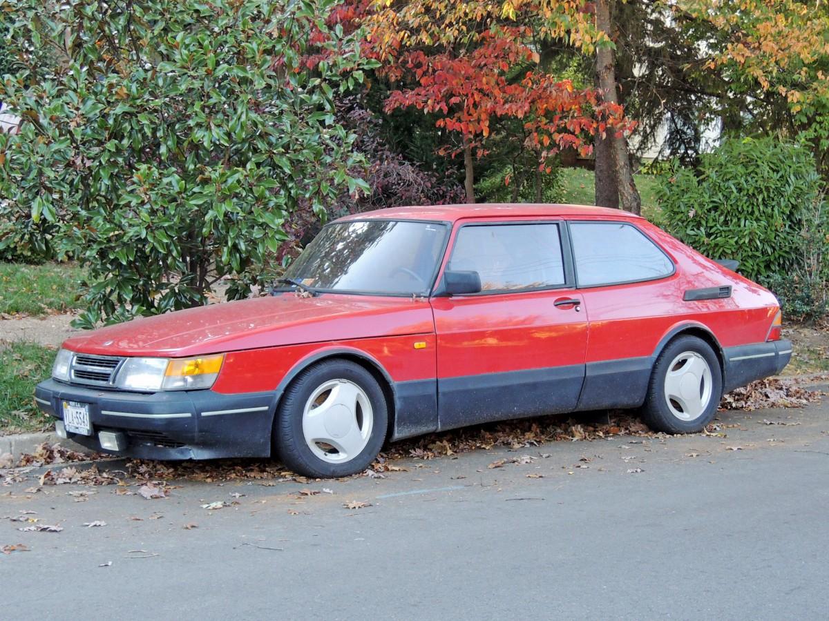 Curbside Classic 1990 Saab 900 Turbo SPG  The Sun Sets On Saabs