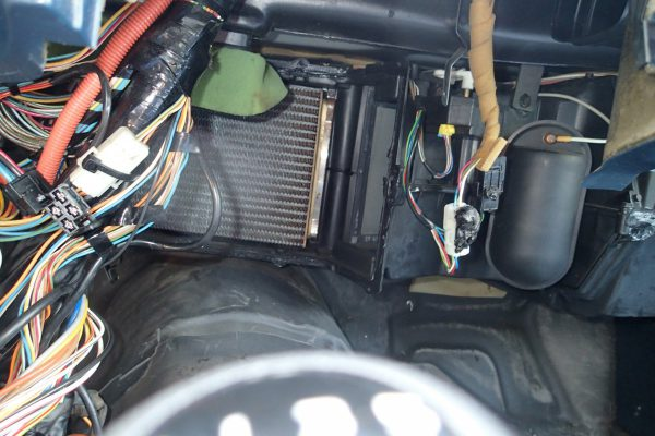 What car has an easy to access heater core?